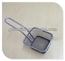 stainless steel mesh basket fryer kitchen accessories