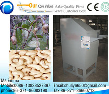best quality automatic cashew nut sheller/cashew shelling machine 0086-13838527397