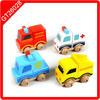wooden toys children Fire Engine