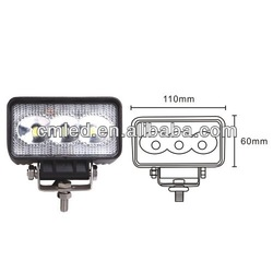 Good qualty EPISTAR 9W LED WORK LIGHT FOR ATV 4X4 OFFROAD LIGHT SUV