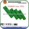 New arrival for US18650vtc3 1600mah li-ion battery for batteries sony