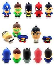 New gift novelty superhero usb 2.0 8gb 16gb