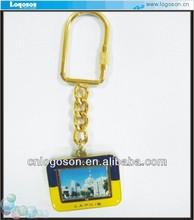 2014 photo frame digital metal Ukraine charms Key chains