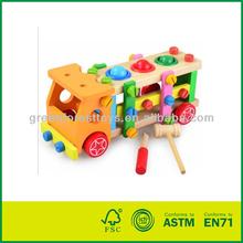 Wooden Tool Car