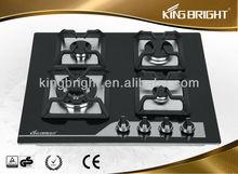 4 burner tempered glass gas stove parts NKB-AG4H002