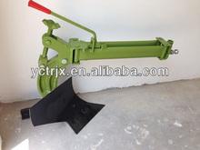 Un arado de vertedera 8-12 para caminar hp mini tractor de arado