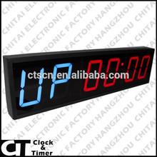 Interval Timer 6 Digits 4 Inch LED Digital Clock Programmable Digital Timer