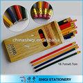 pintura da cor de lápis barato 24 pcs na caixa de papel