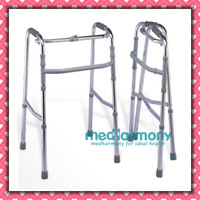 Adjustable Aluminum walker with one crossing bar