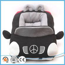 Car shaped polar fleece warm pet dog bed