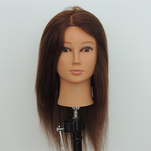 Factory sale cheap human hair mannequin heads long hair