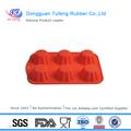 Eco- friendly silicone macio máscara de silicone do molde