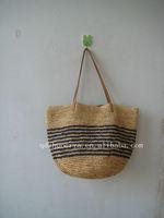 raffia straw handbags or paper straw bags