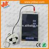 Top Sale! 2014 best promotional gift mini usb audio speaker football shape