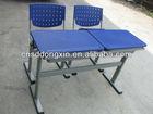 powerful double school furniture price list K808-2+KZ02-2