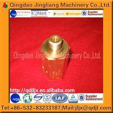 CNC Machining Part Brass/Bronze/Copper /copper and brass Pipe Plug