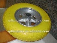 400*8 pu wheelbarrow solid wheel