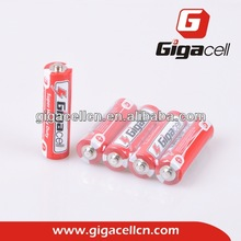 Hot sale! R6 battery Carbon Zinc AA battery