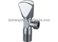 Chrome Plated Brass Angle Valve For Control Water Flow