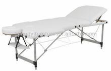GuangYi 3-section aluminum portable adjustable massage table-masa de masaj Masaj tablo