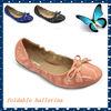 2014 woman ballet foldable dancing shoe ballerina dancing shoe for lady