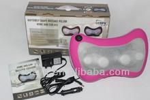 New healthcare equipment Small Massage Pillow , shiatsu massage cushion with car cigarette