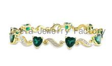 14k oro sfaccettato multi colore della pietra preziosa autentico braccialetto indiano ultima moda gioielli etnici