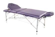 GuangYi 3-section aluminum portable adjustable massage table-masa de masaj Massage talahanayan