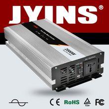 2000W 120v-240v dc to ac power inverter aluminum alloy