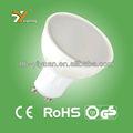 Vente chaude! Led projecteurs 6w gu10 plastiques. composé. boîtier en aluminium, ce& rohs, tuv-gs