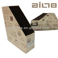 wholesale fresh style desktop foldable cardboard file&book holder with FSC certificate