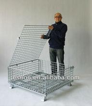 Good sale folding steel storage cage