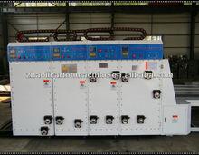 Chain corrugated paperboard box feeding printer machine prices