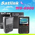 Satélite finder ws6906 3.5 polegadas digital dvb-s satélite finder medidor ws-6906 satlink ws 6906