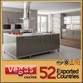 2014 novo design em aço inox pia da cozinha do armário