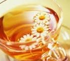 fresh chinese chamomile tea