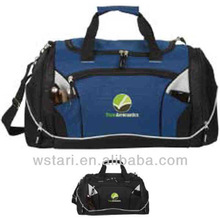 Travel Bag on Wheels, Korea Style Fabric Polyester Duffle Travel bag with Factory Cheap Price