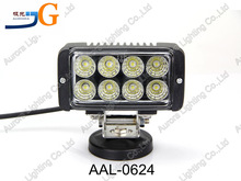 "High quality atv 24w led work light, auto led work light 24V 5"" 100% waterproof AAL-0624."