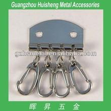 Hot Selling Bag Accessories Metal Lock Keycase Metal Purse Key Case Metal Key Holder