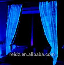 elegant high quality Modern fiber optic curtain waterwall with remote
