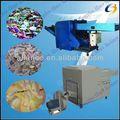 الملابس المستعملة آلة إعادة تدوير المنسوجات 34 لتمزيق نفايات النسيج، النفايات خرقة، نسيج النفايات، 0086 13663826049 الملابس القديمة