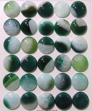 round quartz with agate gemstone cabochon, cabochon blue quartz gemstone