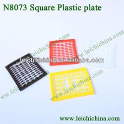 Square plastic plate carp fishing terminal tackle