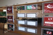 Wall Mounted LED Box Screen Decorative Wall Screen Moving Display