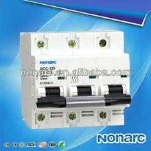 NOC-125 NC Tp Circuit Breaker,Nf Circuit Breaker,Home Circuit Breaker