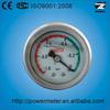 40mm Ss Case Liquid Filled Vacuum back sight glass level gauge