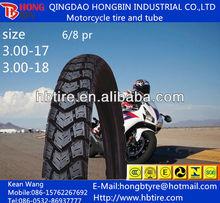 De la motocicleta mrf neumático, De alta resistencia de calle tamaños 3.00 - 17, 3.00 - 18