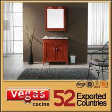 Professional wooden mirrored vanity desk