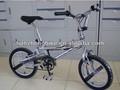 "Fashional plata 16"" 20"" cobra bici de bmx freestyle"