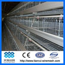 otomatik bir tür tavuk kafesi sistemi